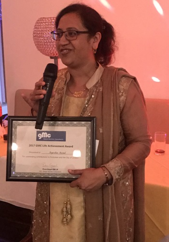 Ayesha Azad - GMC Life Achievement Award