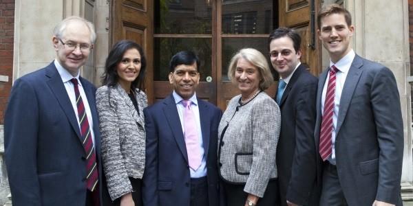 Prem and the rest of the Better Bishopsgate team