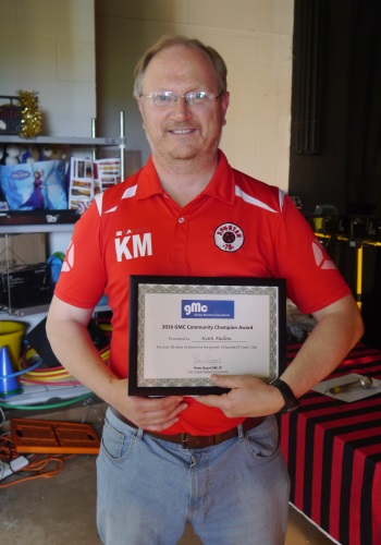 Keith Mullins - GMC Community Champion Award