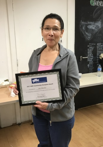 Luz Fletcher - GMC Community Champion Award