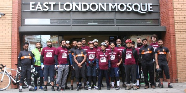 Participating in London to Surrey bike ride Ride4YourMosque 2017