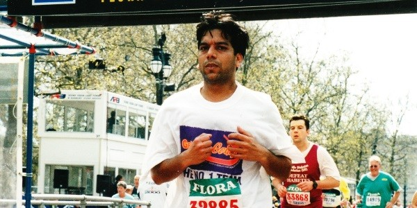 Running the London Marathon to raise £7,000 for Get Kids Going