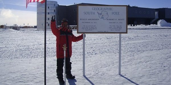 Prem at the Geographic South Pole