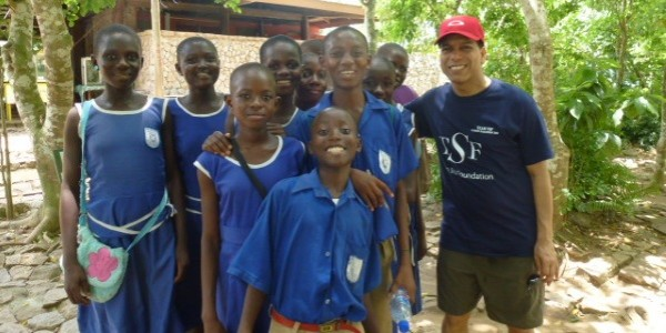 Visiting Ghana with Tayo Situ Foundation