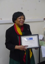 Sonia Sutton - GMC Life Achievement Award (GMC Website)
