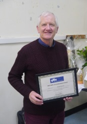 Tony Stevens - GMC Life Achievement Award (GMC Website)
