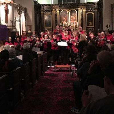 RBCS stage Christmas 2016 concert