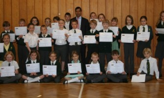 Fostering young enterprise at Ashdown Primary School