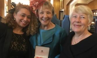 Annie Shepperd receives OBE
