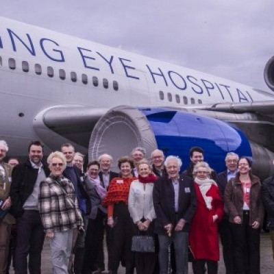 Observing Orbis's new flying eye hospital