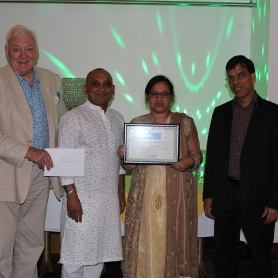 Ayesha Azad receives GMC Life Achievement Award