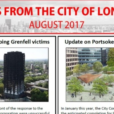 City of London Newsletter: August 2017