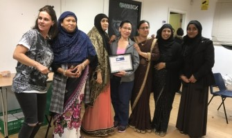 Community champion recognised at Eid celebration