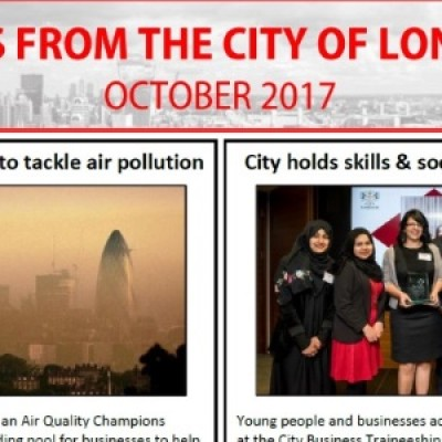 City of London Newsletter: October 2017