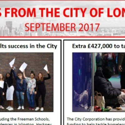 City of London Newsletter: September 2017