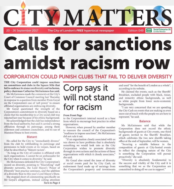 City Matters_Racism Issue Coverage_21 Sept_v1
